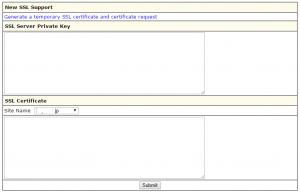 IXWebhostingSSL設定-SSL鍵情報登録