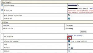 SSL更新-WebService設定