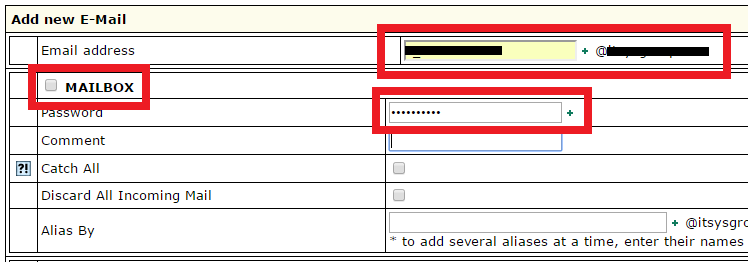 IXWebhostingメールアドレス作成